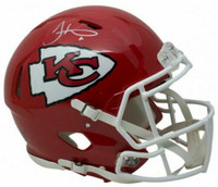 TYREEK HILL Autographed Kansas City Chiefs Speed Authentic Helmet FANATICS