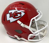 PATRICK MAHOMES Kansas City Chiefs Super Bowl LIV Champions Autographed Riddell Super Bowl LIV Champions Speed Replica Helmet FANATICS