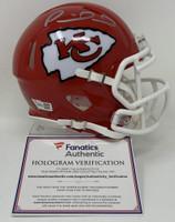 PATRICK MAHOMES Kansas City Chiefs Super Bowl LIV Champions Autographed Riddell Super Bowl LIV Champions Speed Mini Helmet FANATICS