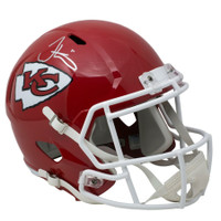 TYREEK HILL Autographed Kansas City Chiefs Speed Full Size Helmet FANATICS