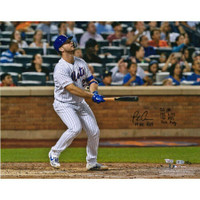 PETE ALONSO Autographed New York Mets HR #53 Stat Photograph FANATICS LE 53