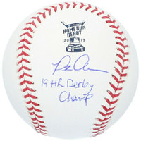 "PETE ALONSO New York Mets Autographed ""19 HR Derby Champ"" Mets Official Baseball FANATICS"