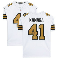 ALVIN KAMARA Autographed New Orleans Saints Nike Color Rush Game Jersey FANATICS