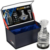 ST. LOUIS BLUES 2019 NHL Stanley Cup Champions Crystal Stanley Cup FANATICS