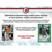2020 BOWMAN BASEBALL 24 Count Retail 12-Box Case JASSON DOMINGUEZ