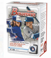 2020 BOWMAN BASEBALL Blaster Box (6 Packs/12 Cards) - JASSON DOMINGUEZ