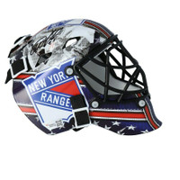 IGOR SHESTERKIN Autographed New York Rangers Mini Goalie Mask FANATICS