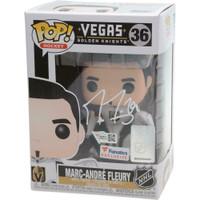 MARC-ANDRE FLEURY Autographed Vegas Golden Knights Funko Pop! FANATICS LE 100