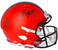 BAKER MAYFIELD Autographed Cleveland Browns Authentic Speed Helmet FANATICS