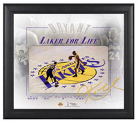"KOBE BRYANT Los Angeles Lakers Framed 15"" x 17"" Final Game Collage"