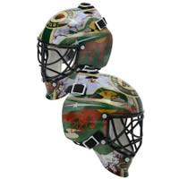 DEVAN DUBNYK Autographed Minnesota Wild Mini Goalie Mask FANATICS