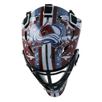 PHILLIP GRUBAUER Autographed Colorado Avalanche Mini Goalie Mask FANATICS
