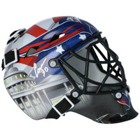 ILYA SAMSONOV Autographed Washington Capitals Mini Goalie Mask FANATICS