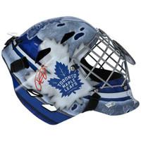 FREDERIK ANDERSEN Autographed Toronto Maple Leafs Goalie Mask FANATICS