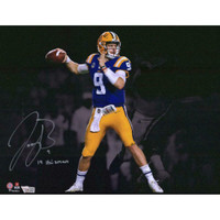 "JOE BURROW Autographed LSU Tigers ""19 Heisman"" 11"" x 14"" Photograph FANATICS"