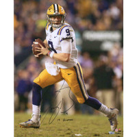 "JOE BURROW Autographed LSU Tigers ""19 Heisman"" 16"" x 20"" Photograph FANATICS"