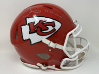"TYREEK HILL Autographed ""SB LIV CHAMPS"" Kansas City Chiefs SB Logo Authentic Helmet FANATICS"