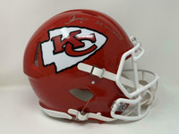 "TYREEK HILL Autographed ""SB LIV CHAMPS"" Kansas City Chiefs Authentic Speed Helmet FANATICS"