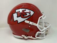 "TYREEK HILL Autographed ""SB LIV CHAMPS"" Kansas City Chiefs Authentic Speed Helmet FANATICS"