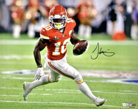 "TYREEK HILL Autographed Kansas City Chiefs Super Bowl LIV 16"" x 20"" Photograph FANATICS"