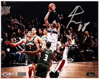 "RUI HACHIMURA Autographed Washington Wizards ""In Traffic"" 16"" x 20"" Photograph PANINI LE 88"