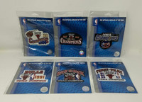 MICHAEL JORDAN Chicago Bulls Official Patches For All Six (6) Championships