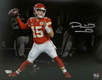 PATRICK MAHOMES Autographed Kansas City Chiefs SB LIV Champions 11 x 14 Spotlight Photo FANATICS