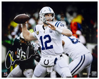 "ANDREW LUCK Autographed Indianapolis Colts 16 x 20 ""12"" Photograph PANINI Limited Edition 12 of 25"