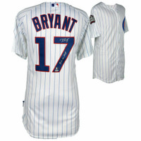 "KRIS BRYANT Signed / Inscribed Chicago Cubs""2016 NL MVP"" Authentic White Jersey FANATICS"