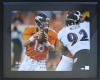 PEYTON MANNING Autographed Denver Broncos NFL Record 7 TDs vs Balt 9-5-13 16x20 Photo STEINER LE 13/18