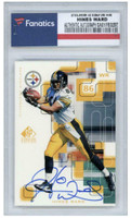 HINES WARD Autographed Pittsburgh Steelers/99 UD Signature Edition Trading Card FANATICS