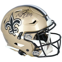 DREW BREES Autographed New Orleans Saints Authentic Speed Flex Helmet FANATICS