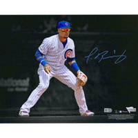 "JAVIER BAEZ Autographed Chicago Cubs 11"" x 14"" Spotlight Photograph FANATICS"