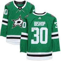 BEN BISHOP Autographed Dallas Stars Authentic Jersey FANATICS