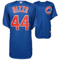 ANTHONY RIZZO Autographed Chicago Cubs Authentic Away Jersey FANATICS