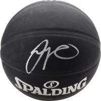 JAYSON TATUM Autographed Boston Celtics Black Spalding Basketball FANATICS