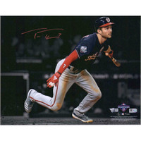 TREA TURNER Autographed Washington Nationals World Series 11 x 14 Spotlight Photo FANATICS