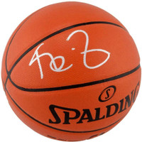 KEVIN GARNETT Autographed (In Silver) Minnesota Timberwolves Spalding Basketball FANATICS