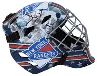 HENRIK LUNDQVIST Autographed New York Rangers Full Size Goalie Mask FANATICS