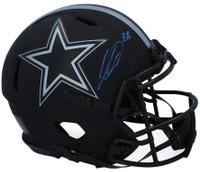 CEEDEE LAMB Autographed Dallas Cowboys Eclipse Authentic Speed Helmet FANATICS