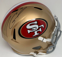 JIMMY GAROPPOLO Autographed San Francisco 49ers Speed Full Size Helmet TRISTAR