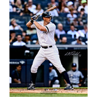 "DJ LEMAHIEU Autographed New York Yankees 16"" x 20"" Hitting Photograph FANATICS"