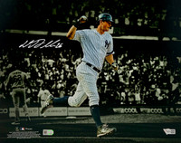"DJ LEMAHIEU Autographed New York Yankees 11"" x 14"" Spotlight Photograph FANATICS"