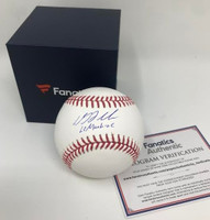 "DJ LEMAHIEU Autographed ""LeMachine"" New York Yankees Official Baseball FANATICS"