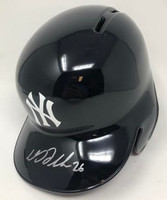 DJ LEMAHIEU Autographed New York Yankees Batting Helmet FANATICS