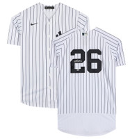 DJ LEMAHIEU Autographed New York Yankees Authentic Nike Pinstripe Jersey FANATICS