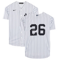 DJ LEMAHIEU Autographed New York Yankees Nike Pinstripe Jersey FANATICS