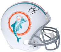 TUA TAGOVAILOA Autographed Miami Dolphins Throwback Authentic Helmet FANATICS