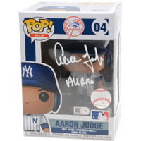 "AARON JUDGE Autographed New York Yankees ""All Rise"" Funko Figurine FANATICS LE 8"