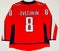 ALEX OVECHKIN Autographed Washington Capitals Breakaway Red Jersey FANATICS